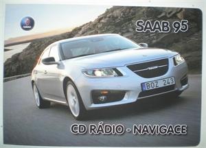 Obrázek produktu: Knížka CD radio navigace SAAB 9-5 10-