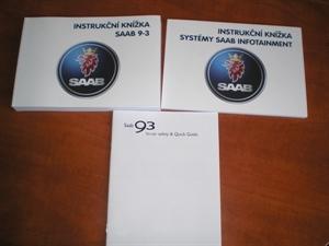 Obrázek produktu: Instrukční knížka Rychlý návod SAAB 9-3 SS - 9-3 Cabrio