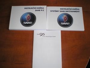 Obrázek produktu: Instrukční knížka rychlí návod SAAB 9-5