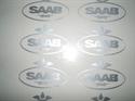 Obrázek produktu: Emblém SAAB černý, stříbrný